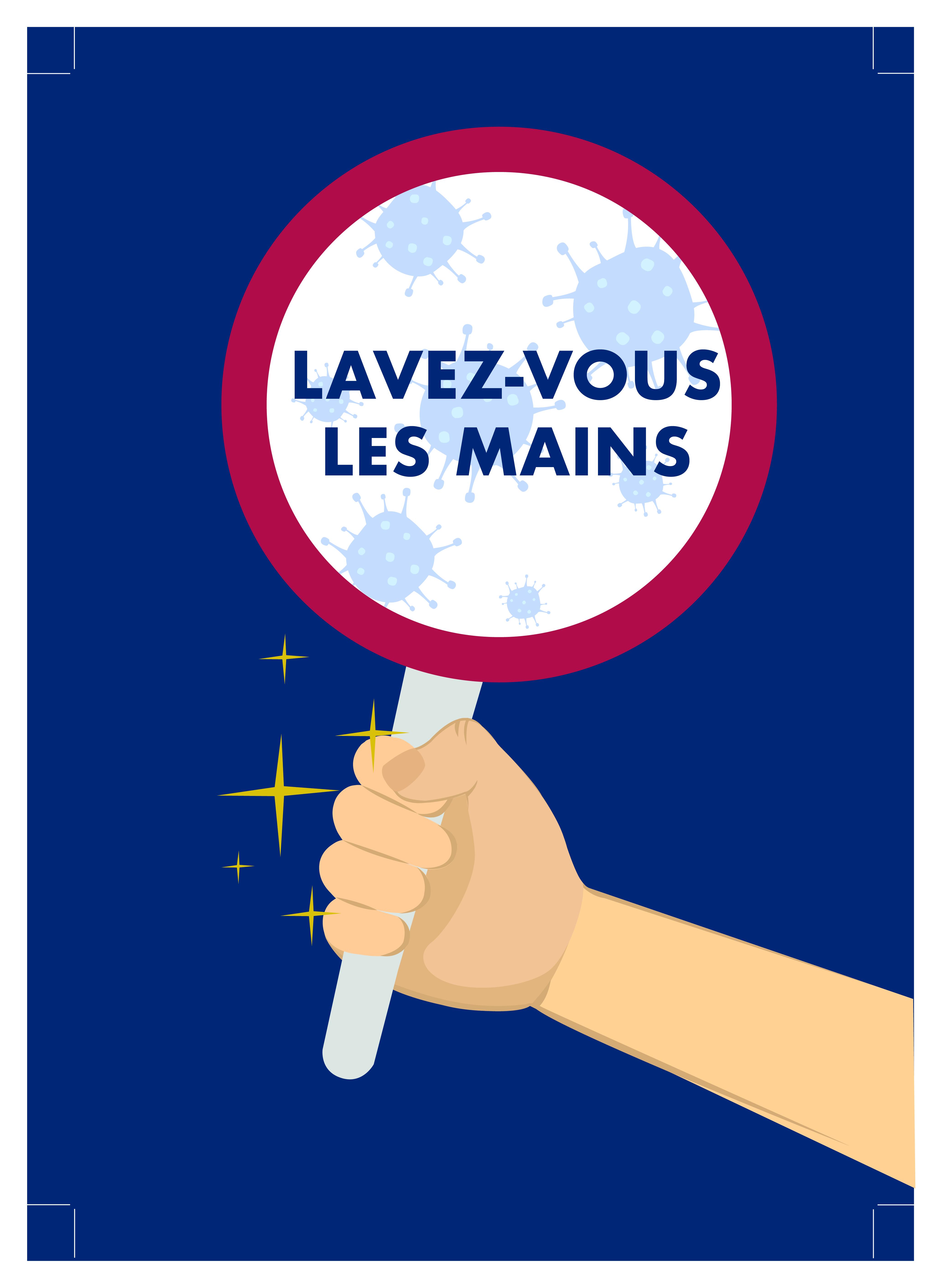 Poster Lavez vous les mains 01