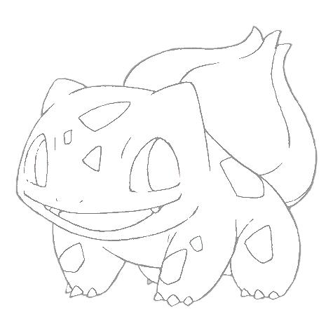 Dessin Pokemon Bulbizar