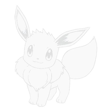 Telecharger Dessins Arts Divers Coloriage Pokemon Evoli Gratuitement