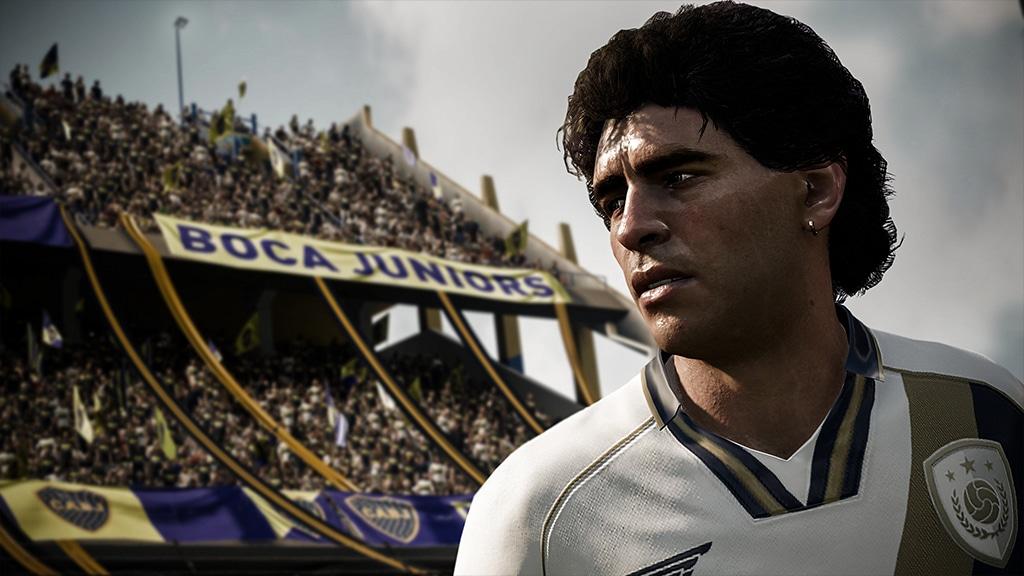 FUT 18 - Fond d'écran Maradona
