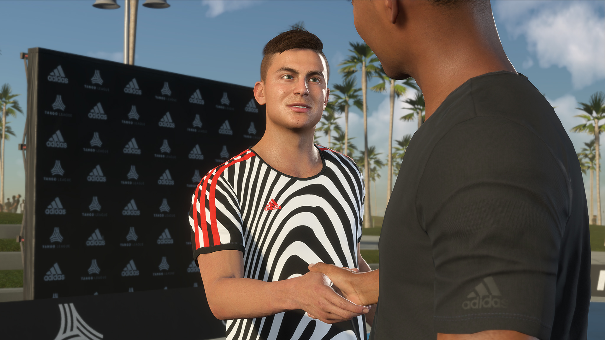 Paulo Dybala et Alex Hunter