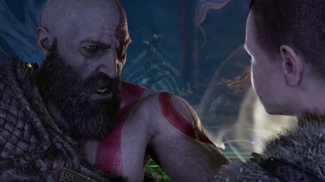 Kratos et Atreus - God of War 4
