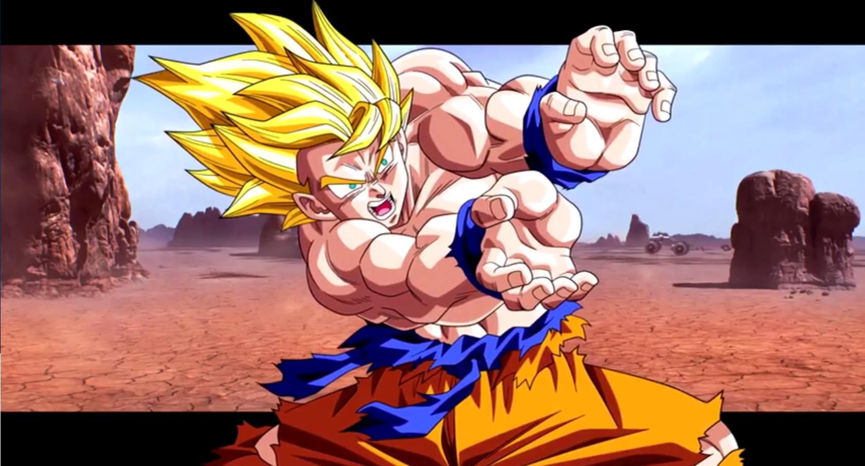 Télécharger Fonds D écran Goku Super Saiyan Gratuitement