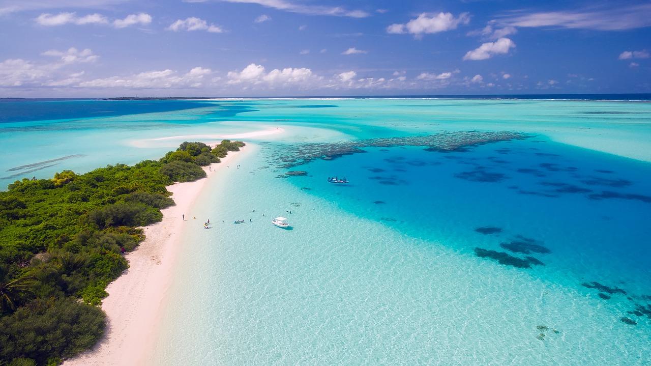Télécharger fonds d'écran plage maldives gratuitement