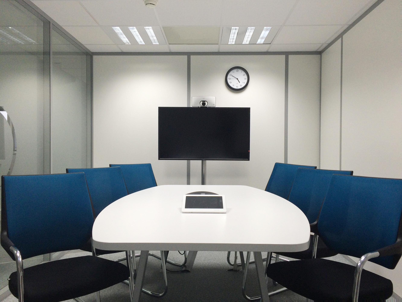 Arrière plan virtuel pour visioconférence : Salle de réunion