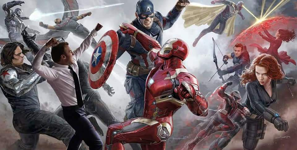 La célébration du président Macron détournée en mème dans l'affiche des Avengers