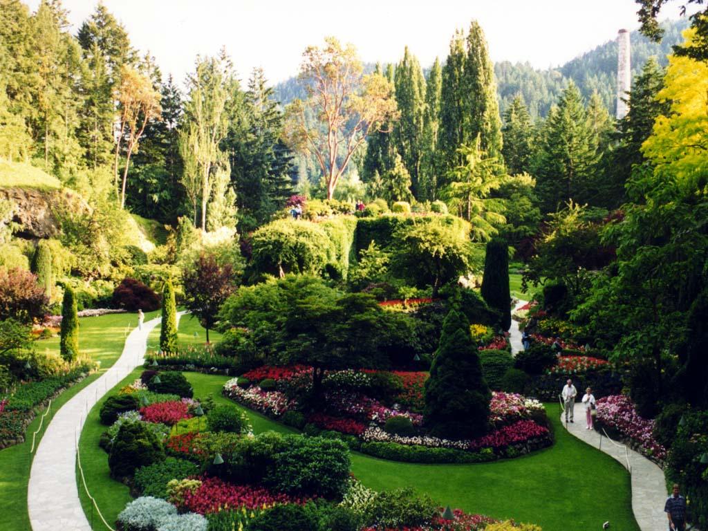 Télécharger fonds d\'écran jardin fleuri gratuitement