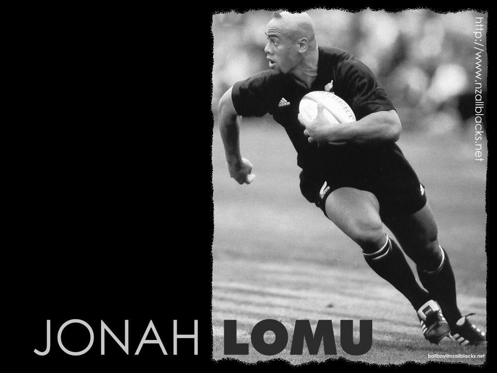 Telecharger Fonds D Ecran Jonah Lomu Gratuitement