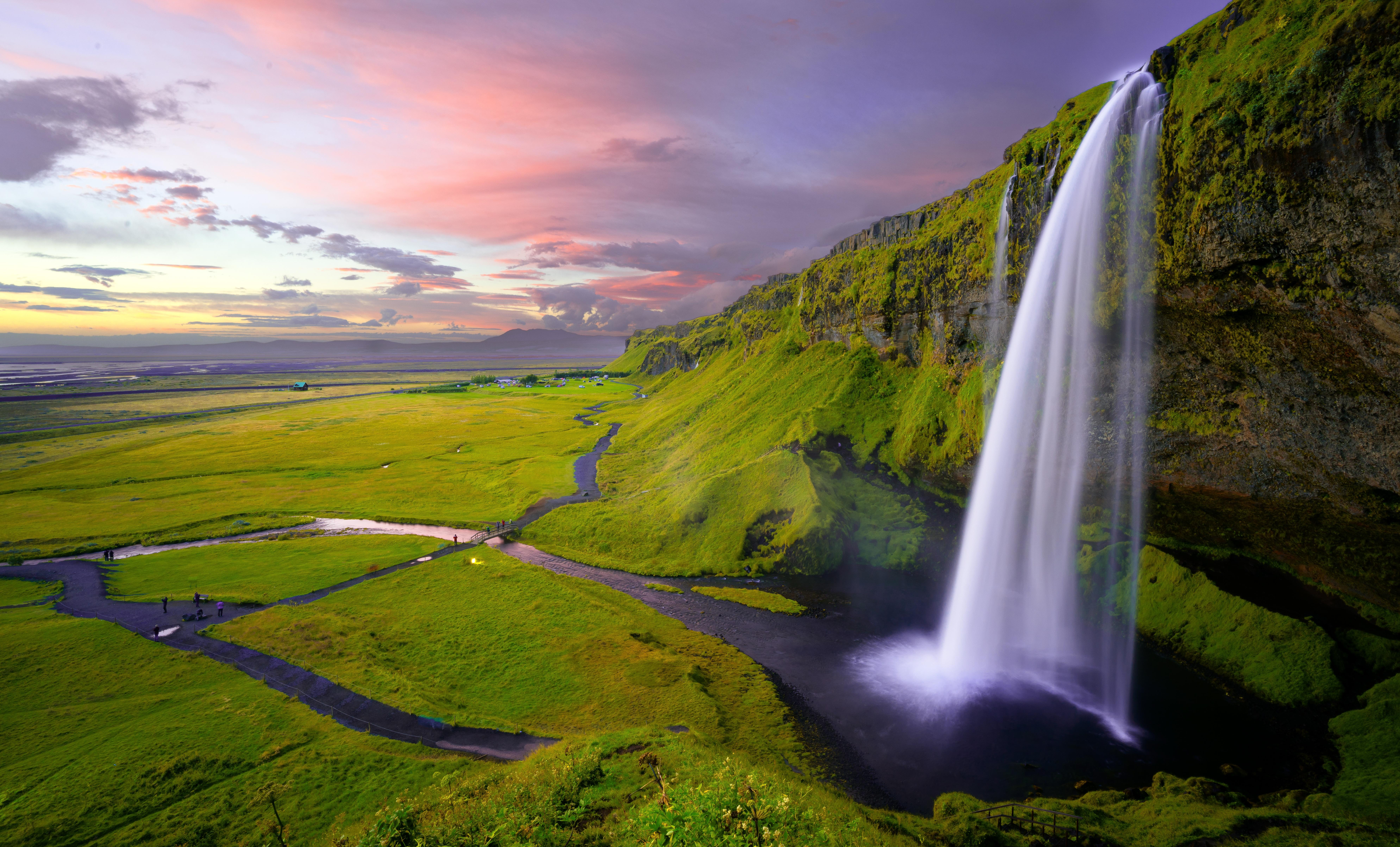Paysage: Nature et cascade